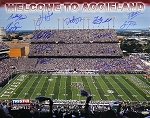 Texas A&M Aggies Autographed Commemorative 16x20 Photo - 13 Signatures