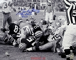 Bart Starr Autographed Green Bay Packers 16x20 Photo Inscribed Ice Bowl