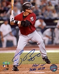 Craig Biggio Autographed Astros 8x10 Photo Inscribed HOF 2015, 3060 Hits