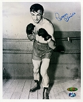 Carmen Basilio Autographed Boxing 8x10 Photo