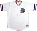 Kevin Costner Autographed Bull Durham Jersey