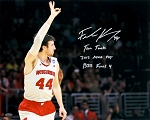 Frank Kaminsky Autographed Wisconsin Badgers 16x20 Photo with Inscriptions
