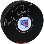 Mike Richter Autographed New York Rangers Puck