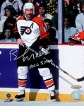 Brad Marsh Autographed Philadelphia Flyers 8x10 Photo Inscribed 95 All-Star
