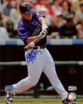 Matt Holliday Autographed Colorado Rockies 8x10 Photo