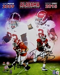 Mark Ingram & Derrick Henry Autographed Alabama Heisman Winners 16x20 Photo