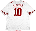 Jimmy Garoppolo Autographed San Francisco 49ers Nike 'Game' White Replica Jersey
