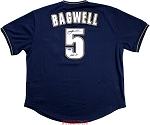 Jeff Bagwell Autographed Houston Astros M&N 1994 Throwback Navy Jersey Inscribed HOF 2017
