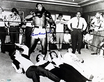 Muhammad Ali Autographed 16x20 Photo Pictured with The Beatles