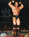 Lex Luger Autographed Wrestling 8x10 Photo
