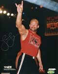 Lex Luger Autographed WCW Wrestling 8x10 Photo