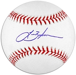 Lance Berkman Autographed Major League Baseball