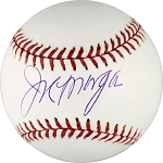 Joe Morgan Autographed Major League Baseball