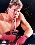 Tommy Morrison Autographed Close-Up 8x10 Photo