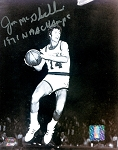 Jon McGlocklin Autographed Milwaukee Bucks 8x10 Photo 1971 NBA Champs