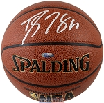 Dwight Howard Autographed Spalding I/O NBA Basketball