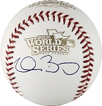 Clay Buchholz Autographed 2013 World Series Baseball
