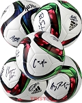 USA Womens Soccer Team Autographed 2015 World Cup Soccer Ball - 8 Signatures