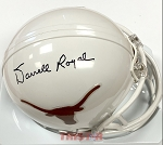 Darrell Royal Autographed University of Texas Longhorns Mini Helmet