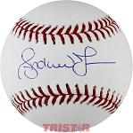 Andruw Jones Autographed Major League Baseball