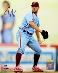 Joe Savery Autographed Philadelphia Phillies 8x10 Photo