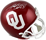 Adrian Peterson Autographed Oklahoma Sooners Full Size Replica Helmet