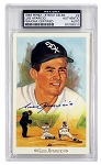 Luis Aparicio Autographed White Sox 1989 Perez-Steele Celebration Postcard #2