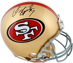 Colin Kaepernick Autographed San Francisco 49ers Authentic Full Size Helmet