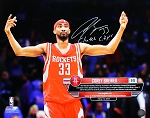 Corey Brewer Autographed Houston Rockets 16x20 Photo Inscribed Clutch City!