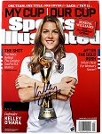 Kelley O'Hara Autographed USA Soccer July 20, 2015 Sports Illustrated Magazine