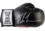 Mike Tyson Autographed Everlast Black Boxing Glove
