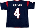 Deshaun Watson Autographed Houston Texans Custom Jersey