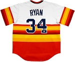 Nolan Ryan Autographed Houston Astros Rainbow Jersey