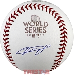 Yuli Gurriel Autographed 2017 World Series Baseball