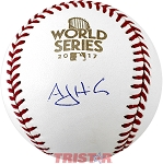 AJ Hinch Autographed 2017 World Series Baseball