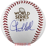 Lance McCullers Autographed 2017 World Series Baseball