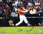 Jose Altuve Autographed Houston Astros Batting 8x10 Photo