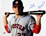 Jose Altuve Autographed Houston Astros Posing 8x10 Photo