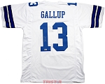 Michael Gallup Autographed Dallas Cowboys Custom Jersey