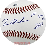 Tim Anderson Autographed Southern League Baseball Inscribed 1st 17th Pick 2013