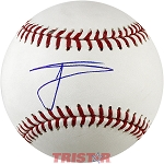 Willie Calhoun Autographed Major League Baseball