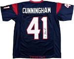 Zach Cunningham Autographed Houston Texans Custom Jersey