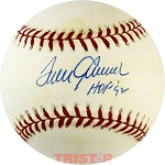 Tom Seaver Autographed Official NL Baseball Inscribed HOF 92