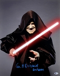 Ian McDiarmid Autographed 'Star Wars' Emperor 16x20 Photo