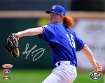 Dustin May Autographed LA Dodgers Minor League Quakes 8x10 Photo