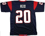 Justin Reid Autographed Houston Texans Custom Jersey