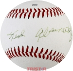Ted Abernathy Autographed Rare Single-Signed Baseball