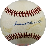 Yogi Berra Full Name Autographed Official AL Baseball Lawrence Peter Berra
