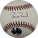 Barry Bonds Autographed Rawlings NL Baseball