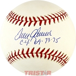 Tom Seaver Autographed Official NL Baseball Inscribed Cy 69, 73, 75